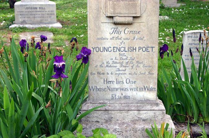800px-9059_-_roma_-_cimitero_acattolico_-_tomba_john_keats_1795-1821_-_foto_giovanni_dallorto_31-march-2008