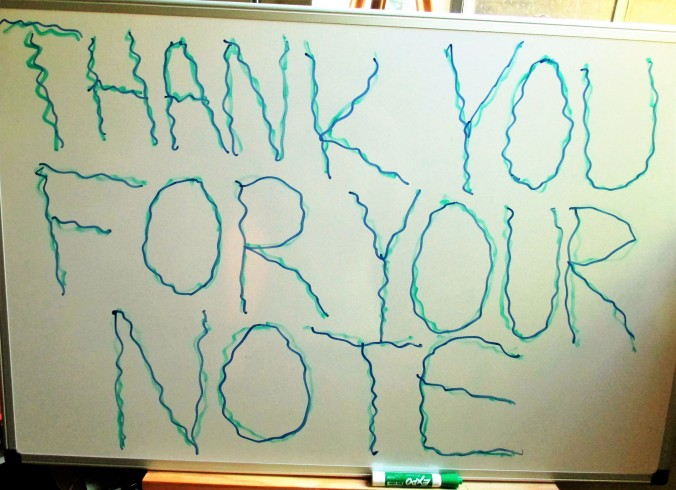 green eerie thank you note from annabelle fixed