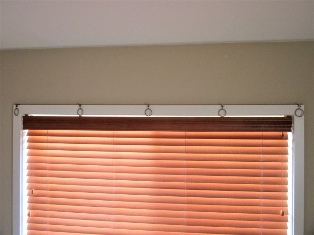 Hanging vintage saris as curtains without a curtain rod lacrimosa speaking